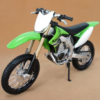 Kawasaki Kx450F  motorcycle model alloy  maisto 1:12