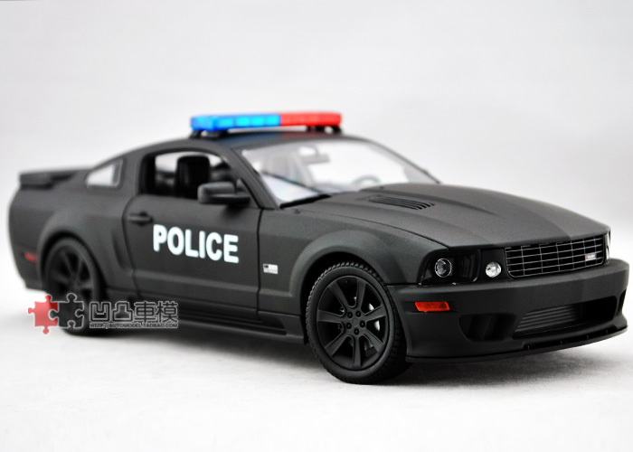 Wyly saleen welly s281e mustang saleen police car model black
