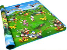Bébé ramper tapis 2 m * 1.8 m * 0.5 CM deux côtés bébé Toy tapis de jeu tapis enfant tapis de tapis de jeu pour enfants(China (Mainland))