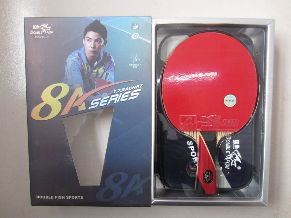 Original finished rackets double fish 8 stars 8ae 8ac table tennis rackets racquet sports carbon blade fast attack loop<br><br>Aliexpress