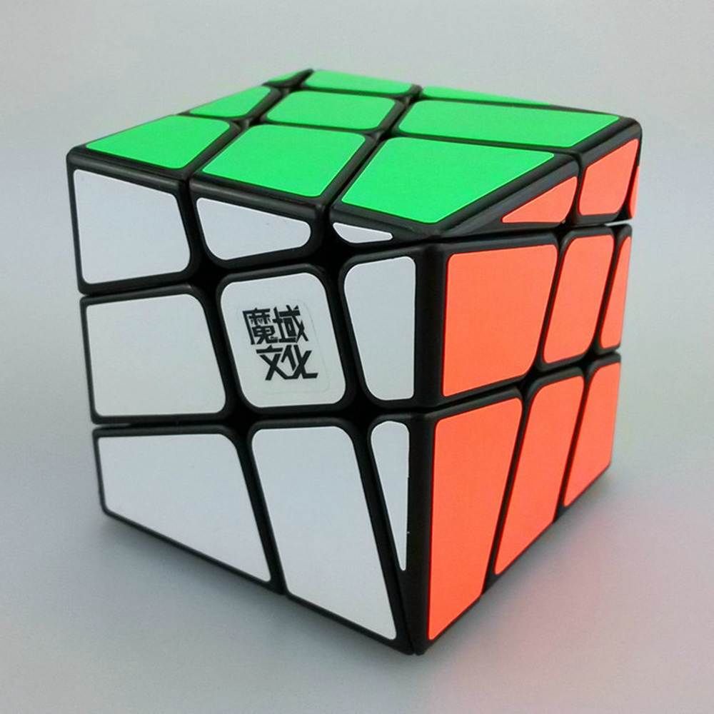 Yongjun Moyu Crazy Wind-fire Rings 57mm 3x3x3 Magic Cube Speed Puzzle Fisher Skewb Cubes Children Kids Educational Toys(China (Mainland))