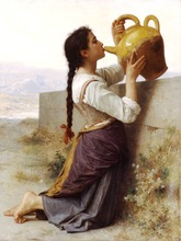 William Adolphe Bouguereau artwork monet reproductions for living room Classical background High quality canvas art pc painting(China (Mainland))