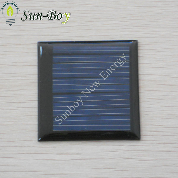200pcs/lot 50*50mm 5.5V 40mA Epoxy Mini Solar Cell(China (Mainland))