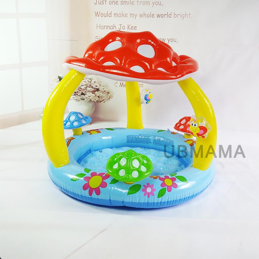 Mushroom beb piscina compra lotes baratos de mushroom for Piscina pequena bebe