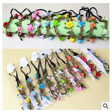 hair accessories baby girls headbands daisy flowers crown wedding hair accessory flores headband for women headwear hairbands(China (Mainland))