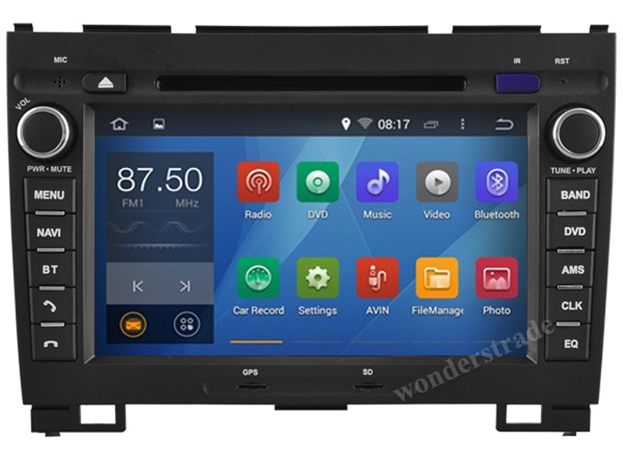 Android 4.4 Car DVD player Radio Stereo GPS Great Wall Hover Haval H3 H5 X200 / 3G WIFI OBD DVR 1024*600 HD screen  -  Wonders Trade & Technology Co., Ltd store