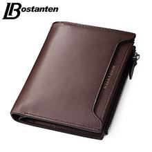 Buy Bostanten 2017 Cheap Designer Men Wallets Coin Zipper Pocket fashion Short Design Men's Wallet Male Real Genuine Leather Wallet for $13.25 in AliExpress store