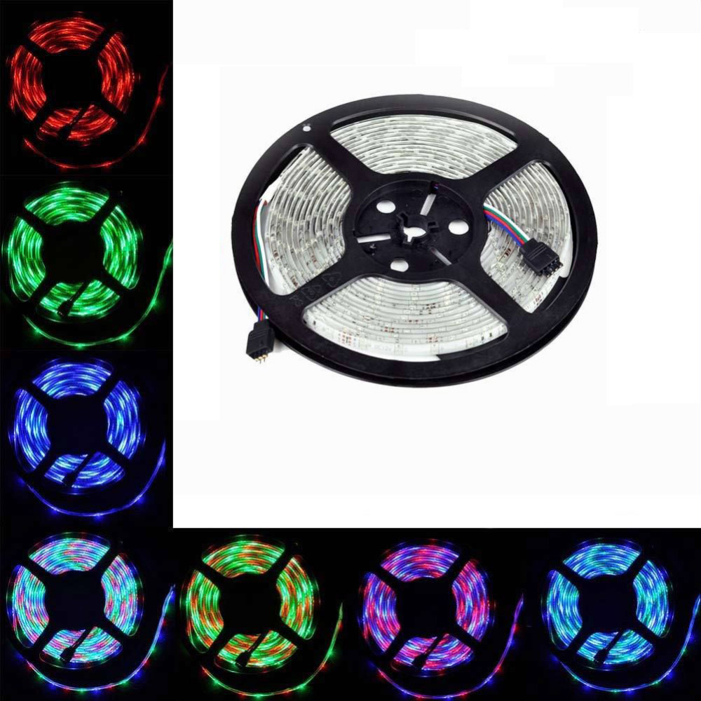 NEW 5m 12V 3A 5050 RGB SMD LED Flexible Strip light 150 LEDs Non-Waterproof car house decoration(China (Mainland))