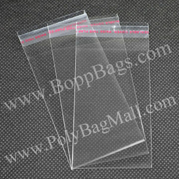 5x10cm clear opp bopp Cheap Wholesale Plastic Bags with self adhesive tape seal for wholesale and retail & Free Shipping(China (Mainland))