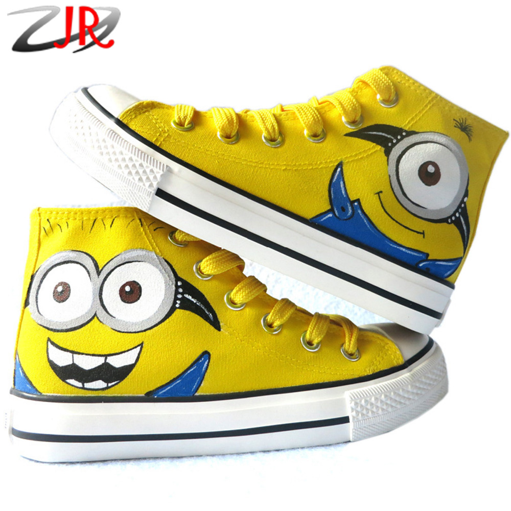 children minions casual shoes high top despicable