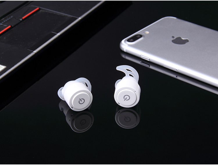 Mini Twins True Wireless Stereo Bluetooth Earphones CSR 4.0 bluetooth Handsfree headset with 2400mAh Charging Box Dock Earbuds