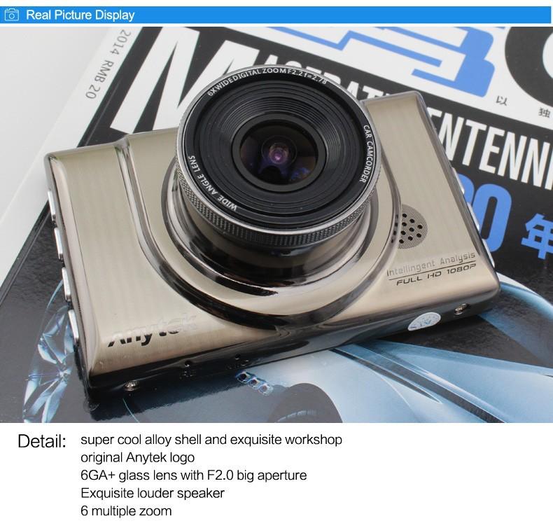 2015 NEW Original Anytek A100+ FHD1080P Car Camera 24Hour Parking