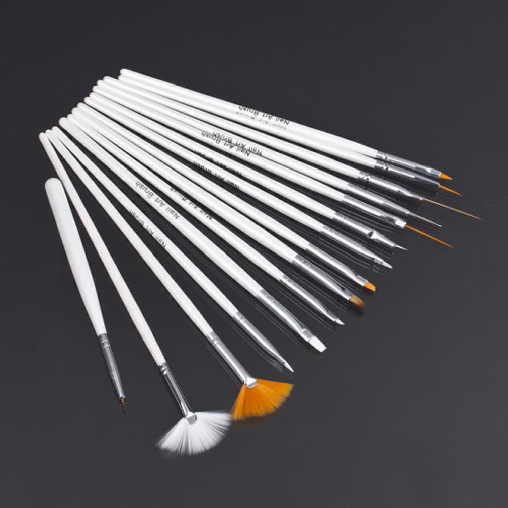 1nail tools Nail Art Polish Painting Pen Brush pincel de unha Set natural/false 3D pen Beauty pinceis para pintura