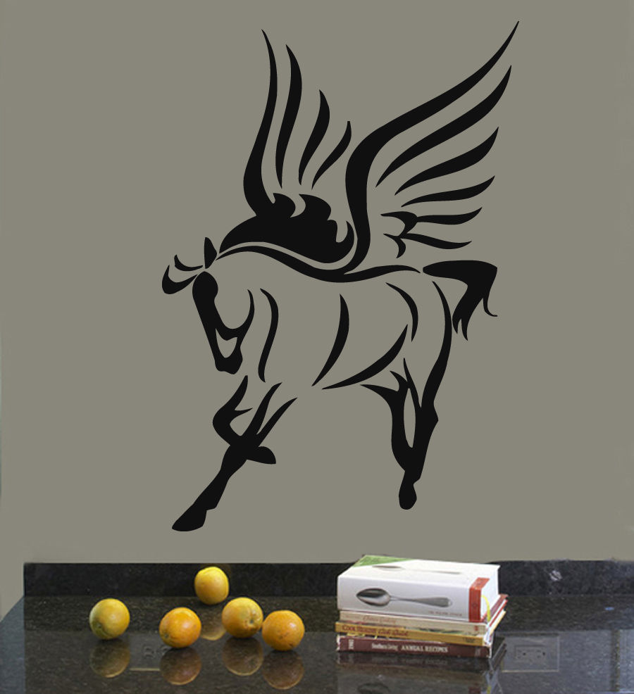 Wall Decals Vinyl Decal Sticker Murals Decor Pegasus Fairy