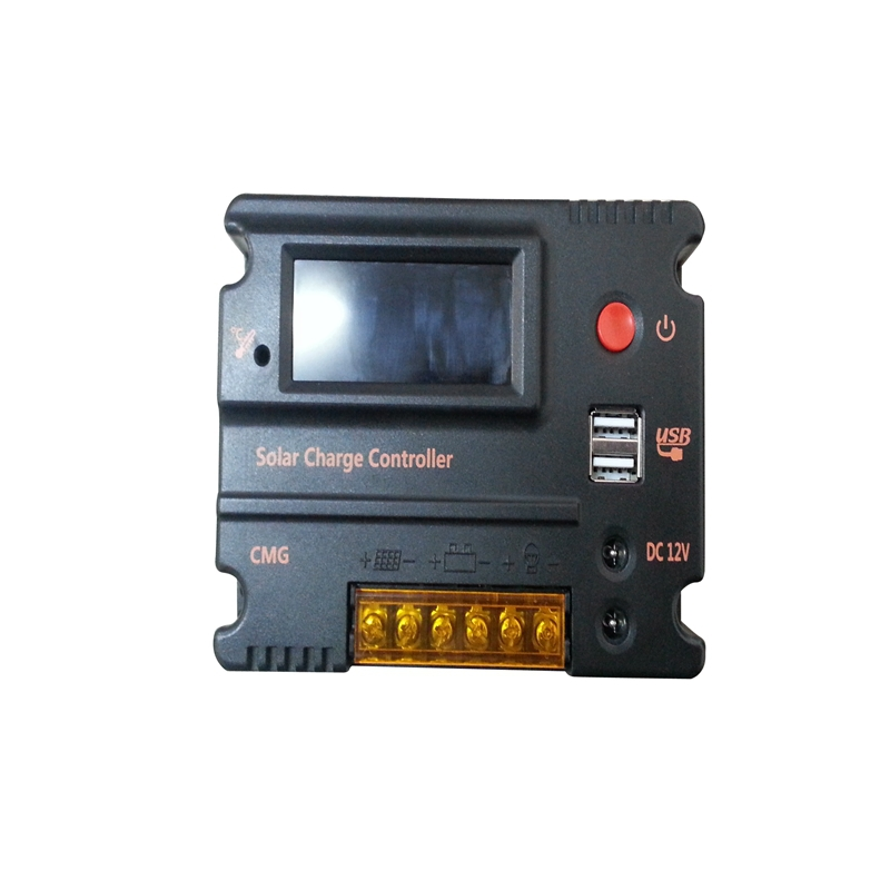 Solar Controller 10A 12V LCD Display Dual USB 5V Solar Panel Battery Charge Regulator Battery Reverse Discharge Protection(China (Mainland))
