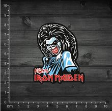 Feuille en métal de canon Iron Maiden Iron Maiden EDDIE portable autocollants apposés boîtier étanche 1 – 59