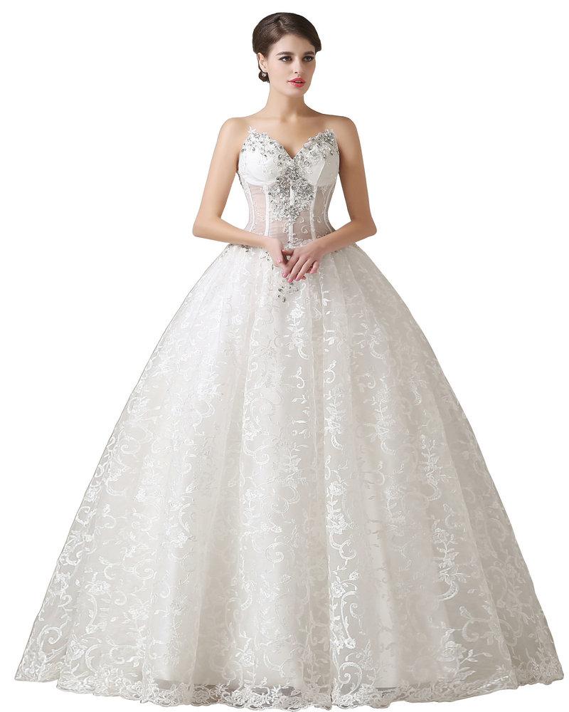 r el mod le sexy corset perles 2016 robe de mari e en
