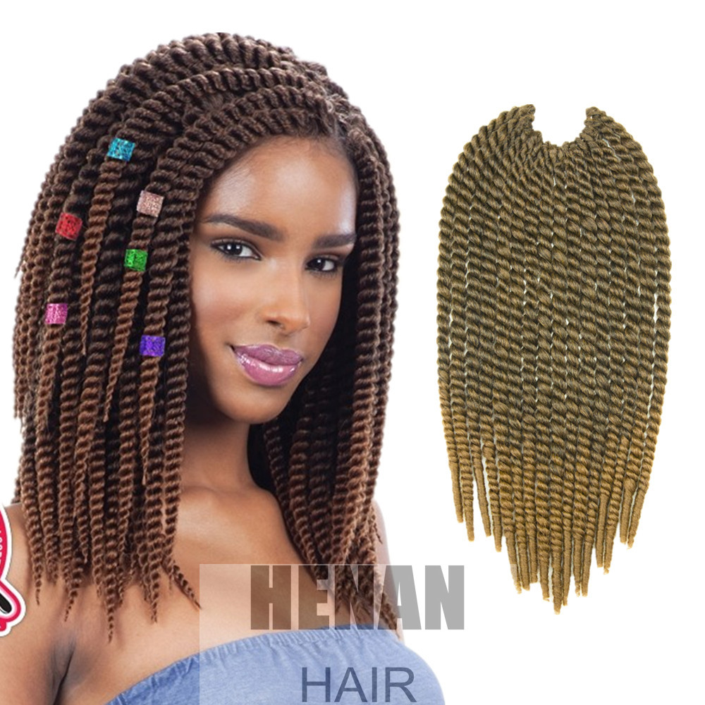 Crochet Braids Medium : Henan Hair MICRO HAVANA MAMBO TWIST Medium 12 inches Crochet Braid ...