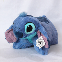 Buy Free 1pcs 50*50cm original hot movie Lilo & Stitch Stuffed stitch Soft plush doll soft pillow cushion best gift for $19.80 in AliExpress store
