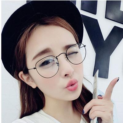 2016 korean vintage retro eye glasses frame for women men oculos optical clear tag