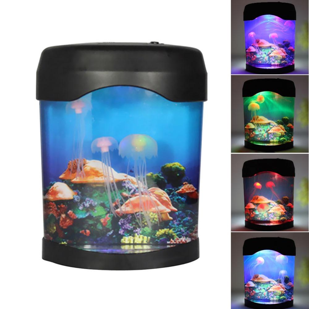 Tank Aquarium Lamp Nightlight Light Multicolor Aquarium Accessories ...