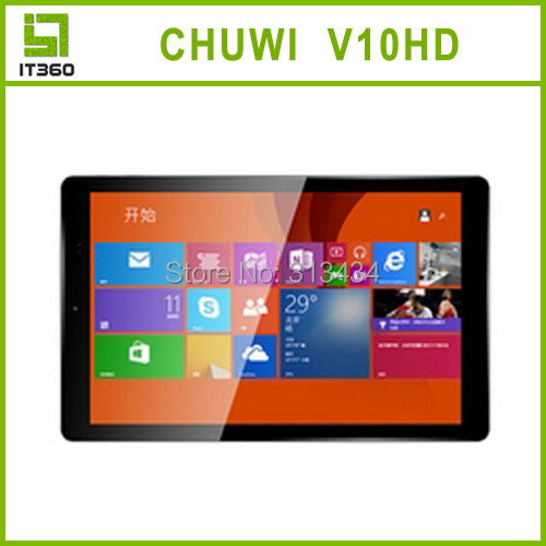 10 1 Inch IPS 1920x1200 Chuwi V10HD 3G Windows 8 1 Tablet PC Intel Z3735F Quad