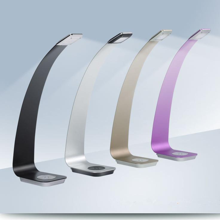 2015 Stylish LED Desk Lamp Fashion Bedroom Bedside Lamp Study Reading Light Delayed Switch Function