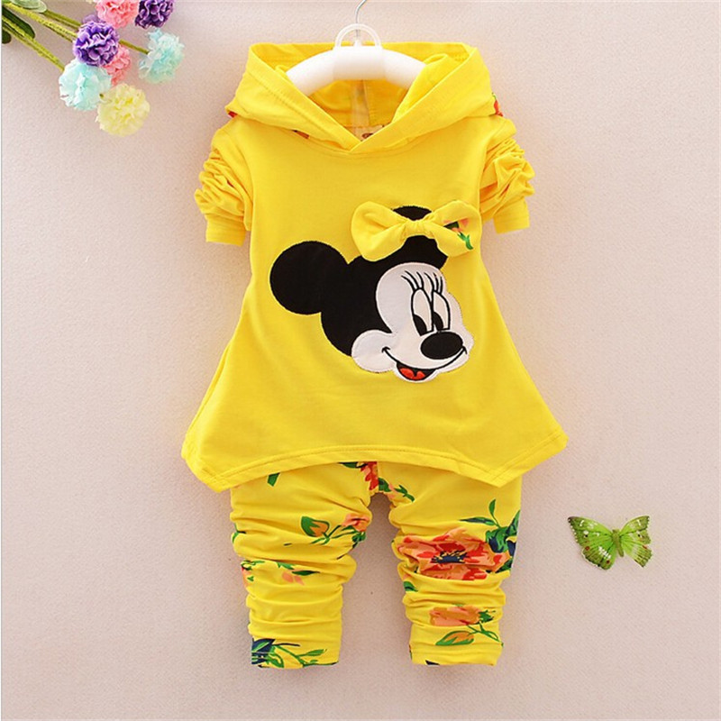 2015 new Spring Autumn baby girls Sport suit set long sleeve children hoodies+pants clothes sets kids 2 pcs clothing set(China (Mainland))