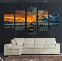 Large HD Seaview With ShipTop-rated Canvas Print Painting for Living Room Wall Art Picture Gift Decoration Home Picture F/748(China (Mainland))