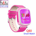 Q80 Children s GPS Positioning Smart Phone Watch 1 44 Inch Color Anti Lost Two