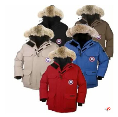 Free shipping (EMS) Canada down jacket authentic male thermal wear short thickening(China (Mainland))