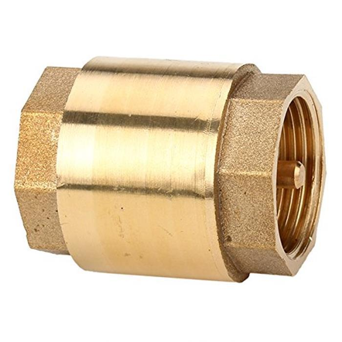 """Spring Check Valves Brass 3/4"""" Thread In-Line Straight-through Type(China (Mainland))"""