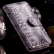 Hot Snake Skin Leather Case for iPhone 5 5S SE Luxury Stand Wallet Card Slot Photo Frame Cover Flip Bag for Apple iPhone 5S 5 SE(China (Mainland))