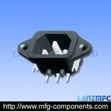 200pcs/bag,Wholesale &Retail male AC Power Socket, 3P Male(China (Mainland))