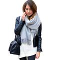 Brand Winter Fashion Echarpe Luxury Blanket Scarf Unisex Women Men Soft Wool Cashmere Pashmina Scarf Shawl