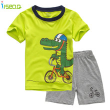 kids boys children clothes boy summer brands boy clothes short Sleeve t-shirt Suit Top+shorts Kids brand boys clothes
