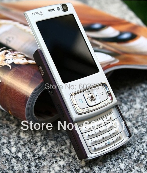 Original Nokia N95 WIFI GPS 5MP 2.6''Screen WIFI 3G Unlocked N95 Mobile Phone 1 Year Warranty(China (Mainland))