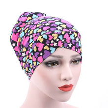 Женский платок для девушек, шапка, мусульманский хиджаб, головной убор, хлопок, модный AIC88(China)