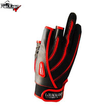3Cut finger Men Waterproof Pu Sport Durable Anti-Slip Anti-Cut Pesca Fishing Gloves Tackle Four Seasons Insulated Luvas Wk-01