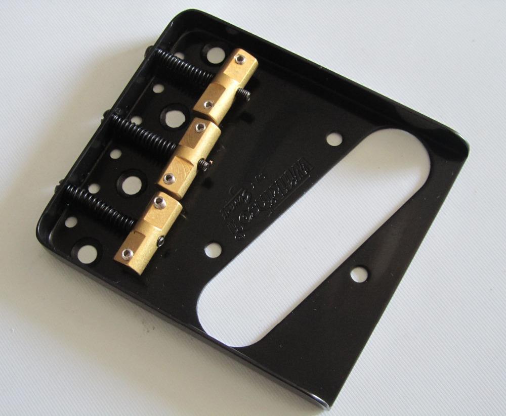Wilkinson Black WTB Ashtray Vintage Style Compensated TL Guitar Bridge(China (Mainland))