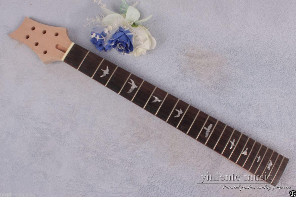 1pcs electric guitar neck solid wood 22 fret 25 rose wood Truss Rod #764<br><br>Aliexpress