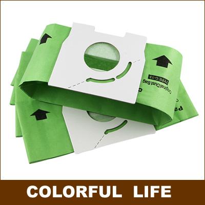 Vacuum cleaner dust paper bags,112*120mm Diameter 50mm,Vacuum cleaner accessories parts,for MC-CA291 MC-CA293 MC-CA391 MC-CA393(China (Mainland))