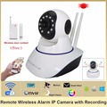 HOSAFE SV01 CMOS 1 0MP Home Security IP Camera w 11 IR LED Door Window Sensor