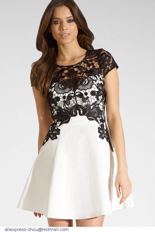 Swing dress lc21984 modern ladies charming dress in dresses