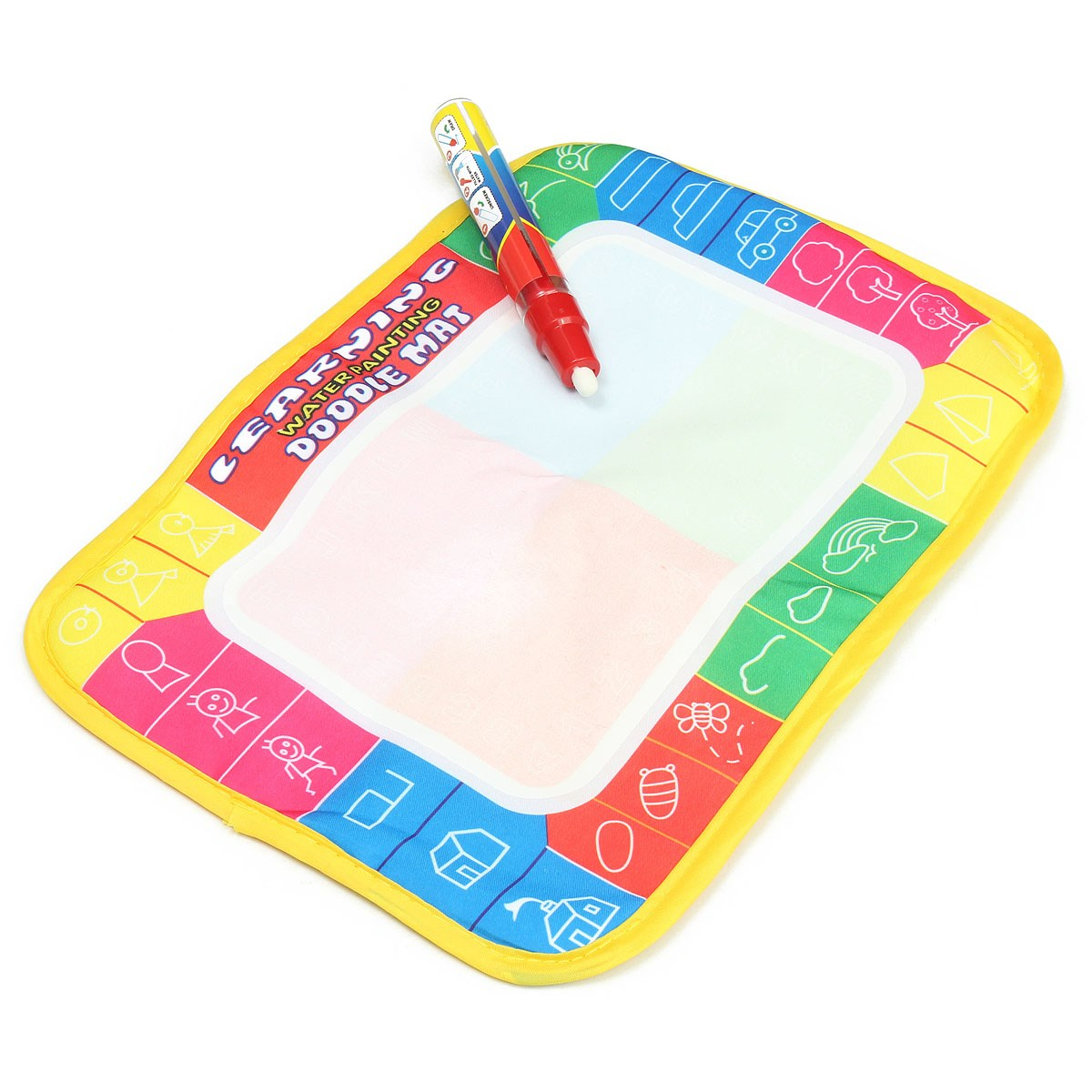 30*20 cm Children Water Drawing Painting Writing Mat with Doodle Magic Pen for Children Kids Developmental Intelligence Crafts