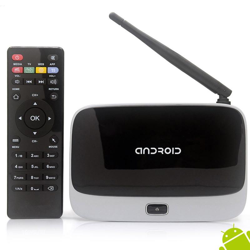 CS918 Android 4.4 Smart TV Box Quad Core XBMC 2G/8GB Wifi 1080P HDMI Media Player