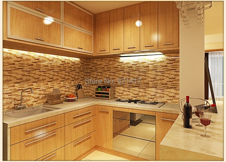 buy beige crystal glass strip shell