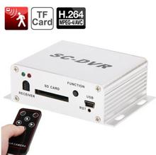 High Quality SC-DVR 1-CH 5-Mode Recording Mini DVR w/ Remote Controller (PAL / NTSC)(China (Mainland))