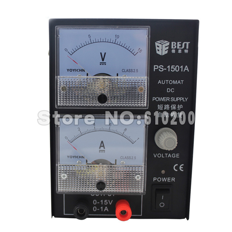 Free shipping 1501A 0-15V,0-1A DC power supply Mini phone repair DC power short circuit protection Automatic recovery function<br><br>Aliexpress