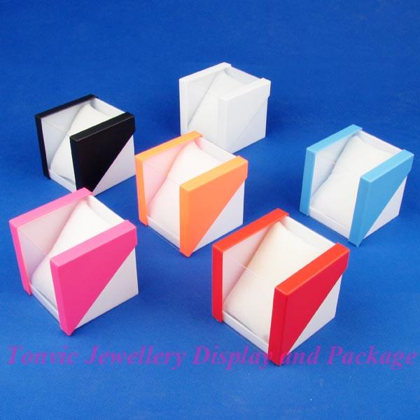 Color plastic watch box watch display box electronic watch box packaging box(China (Mainland))